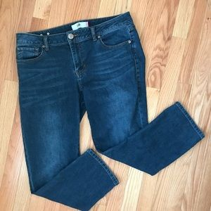 CAbi Jeans New crop size 10